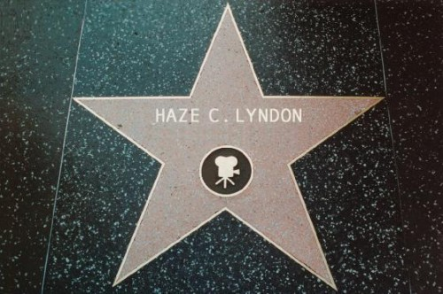 Haze C Lyndon Hollywood star