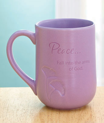 Serenity peaceful mug