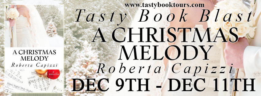 Blog tour banner for A Christmas Melody