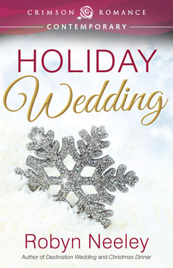 Holiday wedding book cover