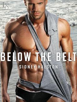 Book cover below the belt