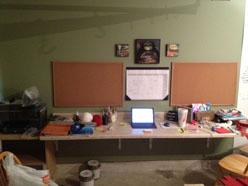 Garage Desk