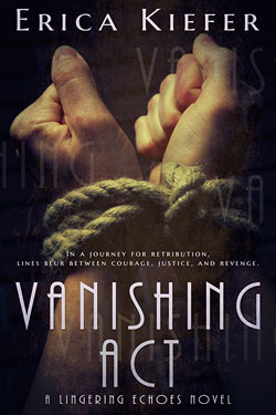 Vanishing act Erica Kiefer book cover