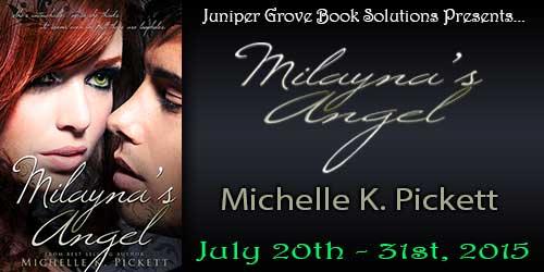 Milayna Angel book banner