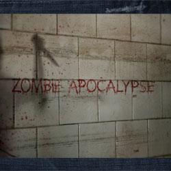 Zombie apocalypse graphic
