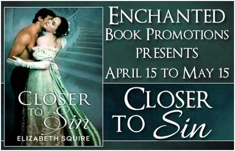Closer to Sin book tour banner