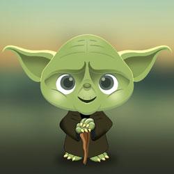 Cartoon Yoda