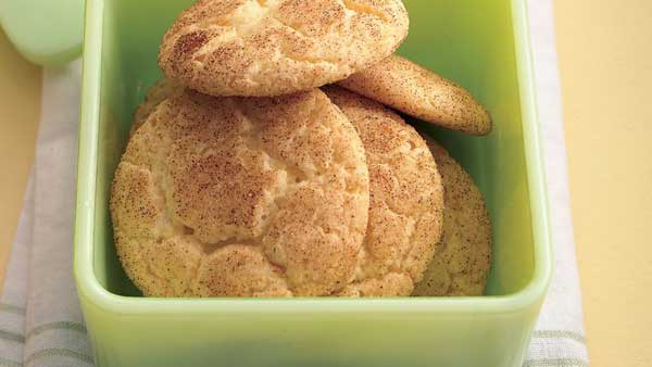 Holiday treat Snickerdoodles