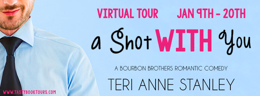 A Shot with you blog tour banner