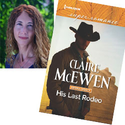 Claire McEwen and book