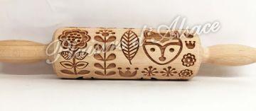 bois motif renard