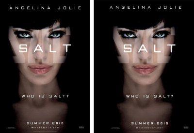 """Movie Poster """"Salt"""" - original and centered"""