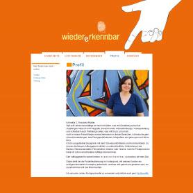 Webseite www.wiedererkennbar.de