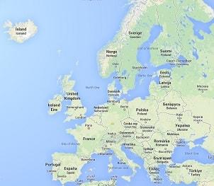 Europa Online-Quiz - Hauptstädte