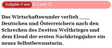 Lückentext auf Deutsch - Übungen zur Satzergänzung
