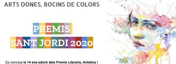 PREMIS LITERARIS SANT JORDI A CASA 2020
