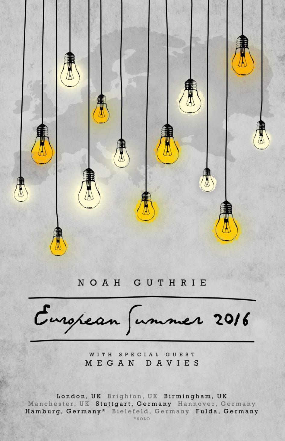 Noah-Megan European Tour