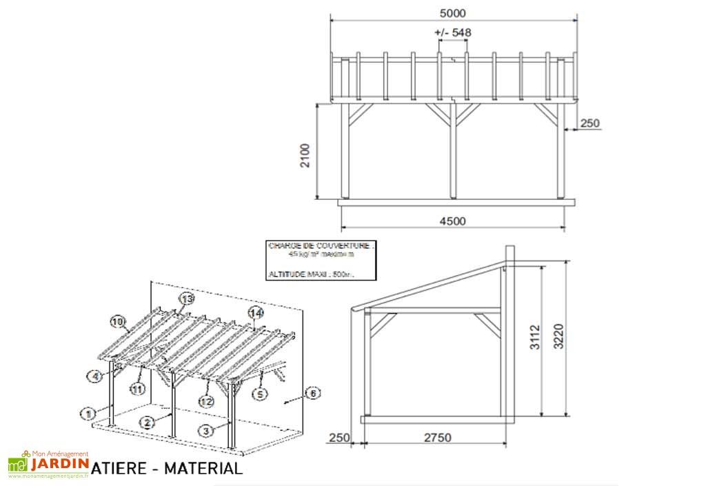 Plan Carport Plans Maisons