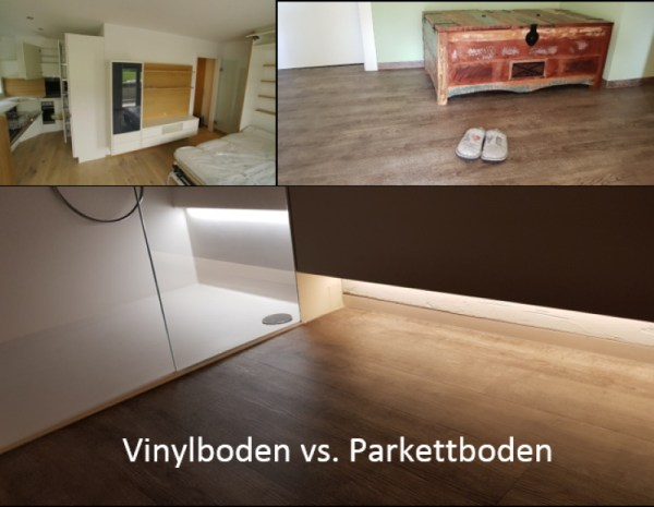 Vinylboden vs. Parkettboden