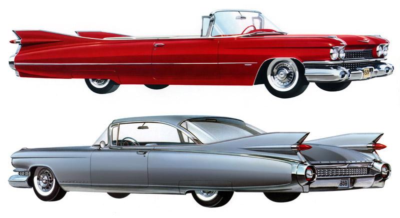 ...Cadillac Eldorado 1959.