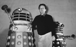 Young Ray Cusick and his Dalek design.