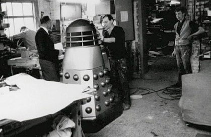Behind the scenes the BBC Design team builds the first Dalek