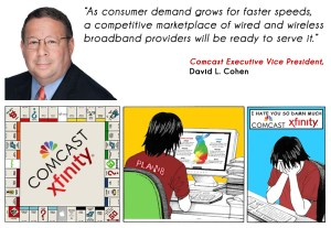 Comcast VP posts disingenuous OP ED in the Philadelphia Inquirer on why you don't need gigabit fiber