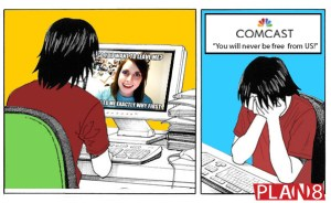 Overly Attached Comcast Won't Let You Go