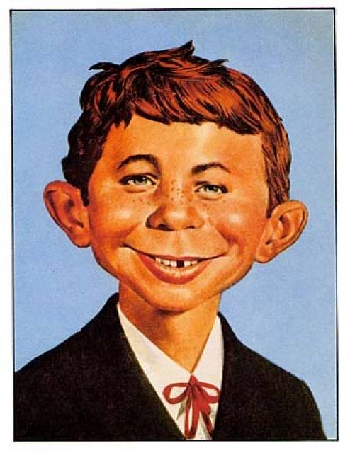 Alfred E. Neuman - What Me Worry?