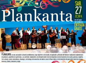 Cartel actuación de Planakanta en Benicàssim