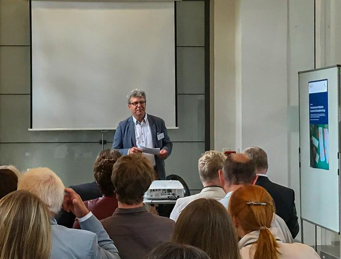 Vortag von Bürgermeister Frank Peuker, Bundeskongress in Berlin 2018