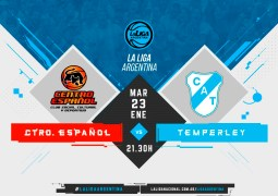 Centro Español – Temperley por La Liga Argentina