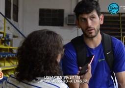 """""""Necesitamos volver al triunfo"""" Emiliano Agostino"""