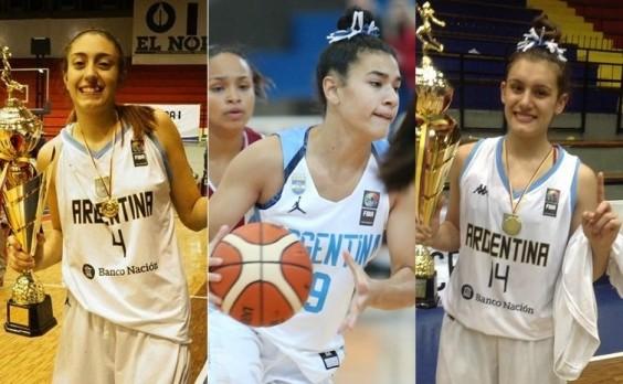 b703577c30a Tres argentinas fueron seleccionadas para un programa de la NBA Academy