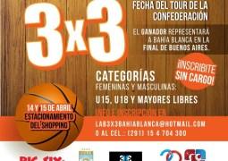 Bahía Blanca recibe el Tour Argentino de 3×3