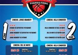 Torneo Final de Minibásquet en la Comarca