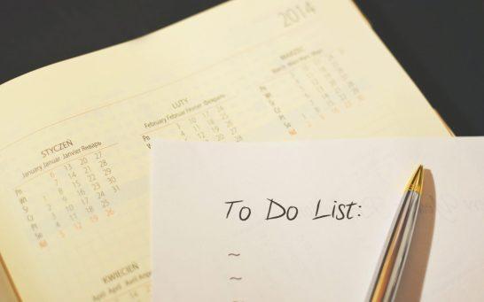 realistisches Zetimanagement - To Do Liste