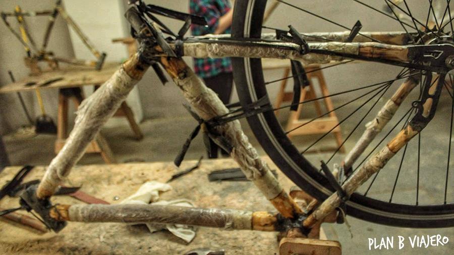 plan b viajero, hacer una bici de bambu, bamboocycles