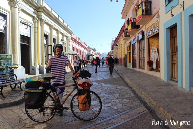 plan b viajero, San Cristóbal de Las Casas, proyecto ecológico en bicis de bambú