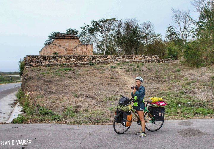 plan b viajero, Península de Yucatán en bicicleta , ruinas mayas Yucatán