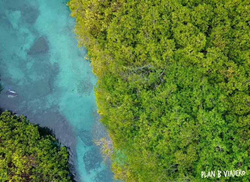 plan b viajero, casa cenote desde arriba, cenotes tulum