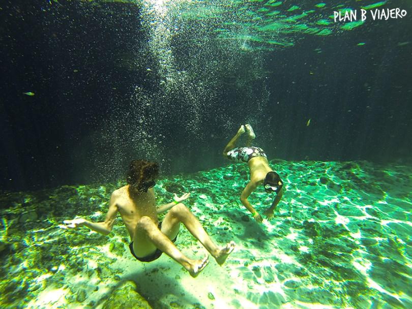 plan b viajero, camilo peña, cenotes tulum, cenote zacil ha