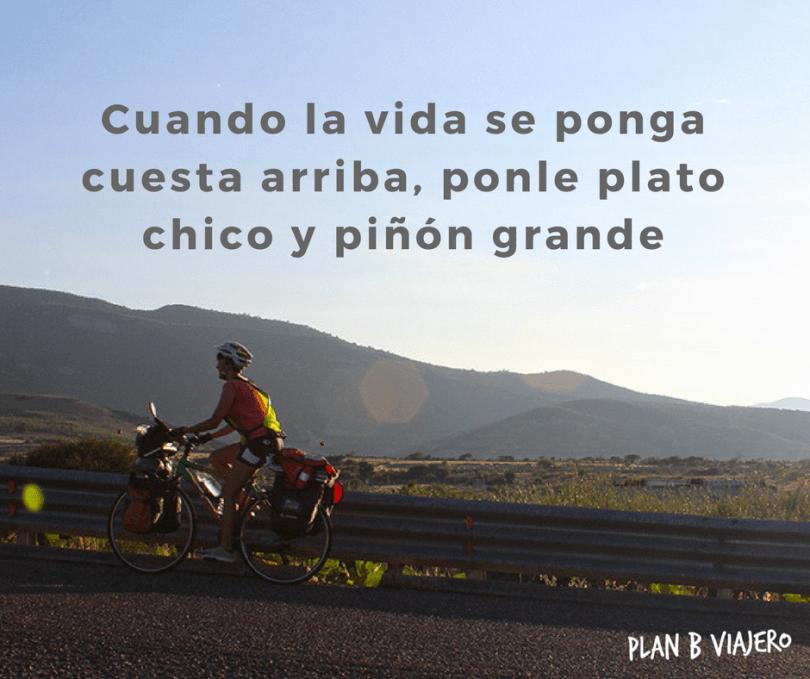plan b viajero, consejos para viajar en bicicleta
