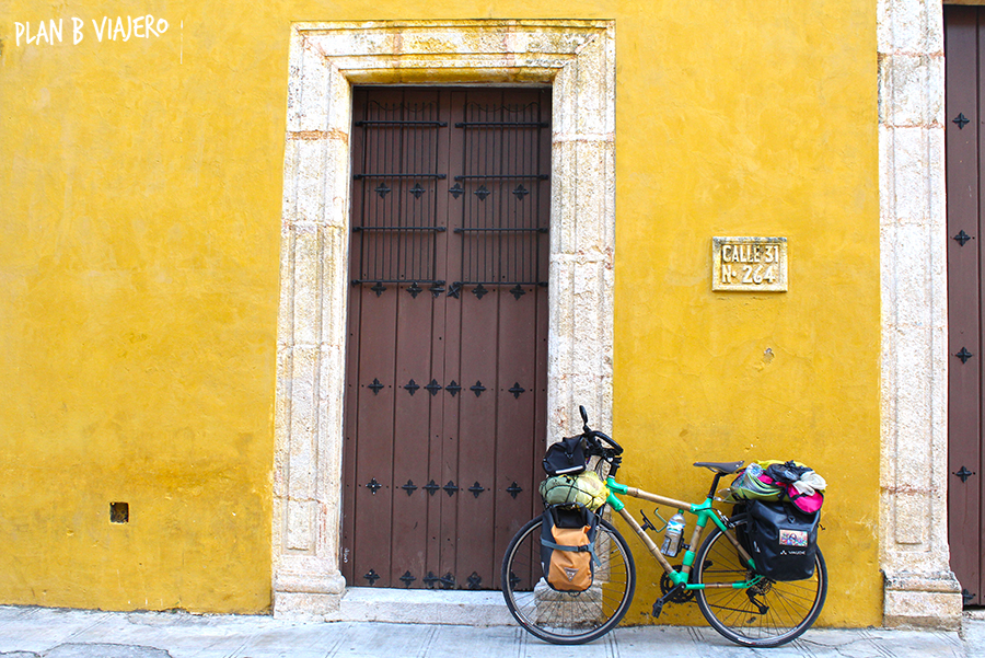 plan b viajero, viajar en bici, viajar en bici de bambú