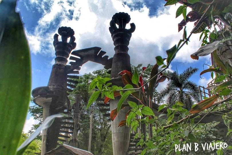 plan b viajero, lugares para visitar en San Luis Potosí, jardin surrealista de Edward James, Pozas Xilitla