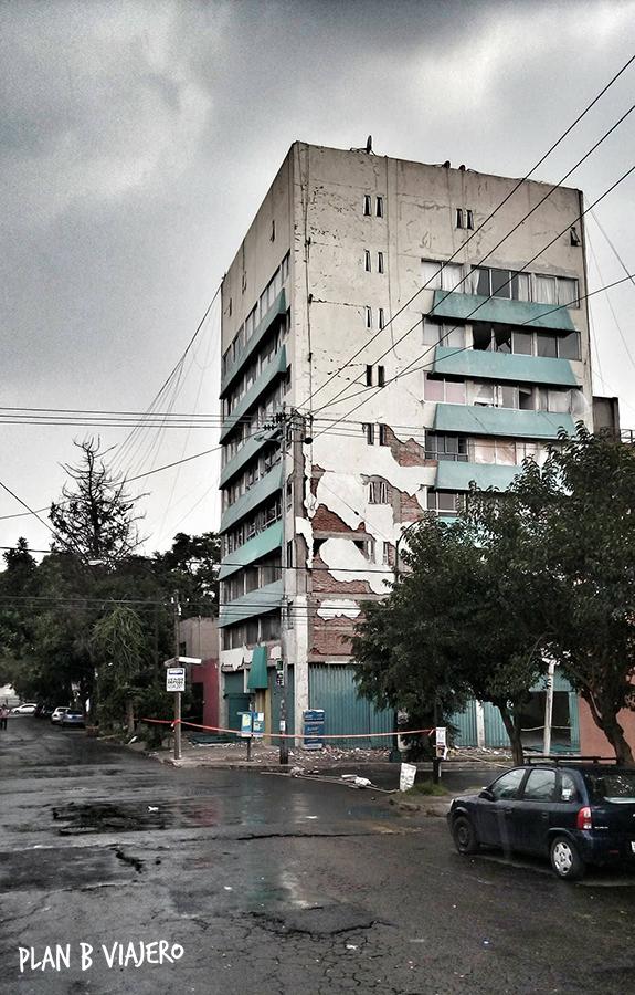 plan b viajero, cronica del temblor del 19 de septiembre