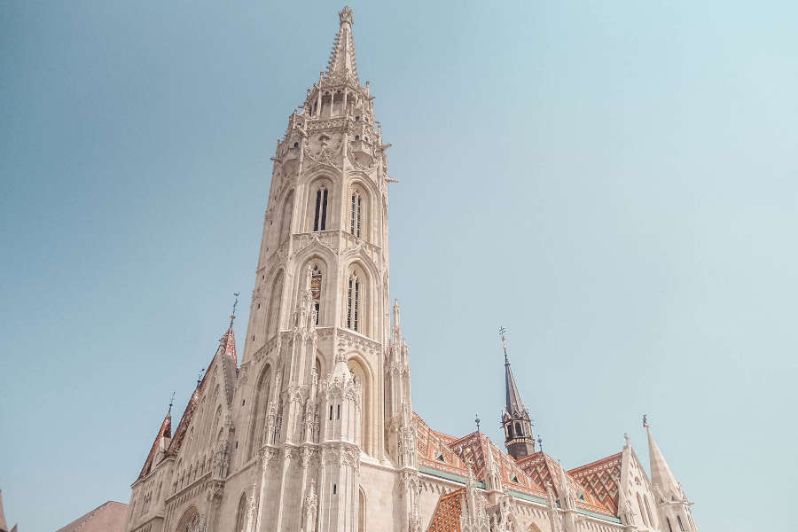 Eine Kirche in Budapest