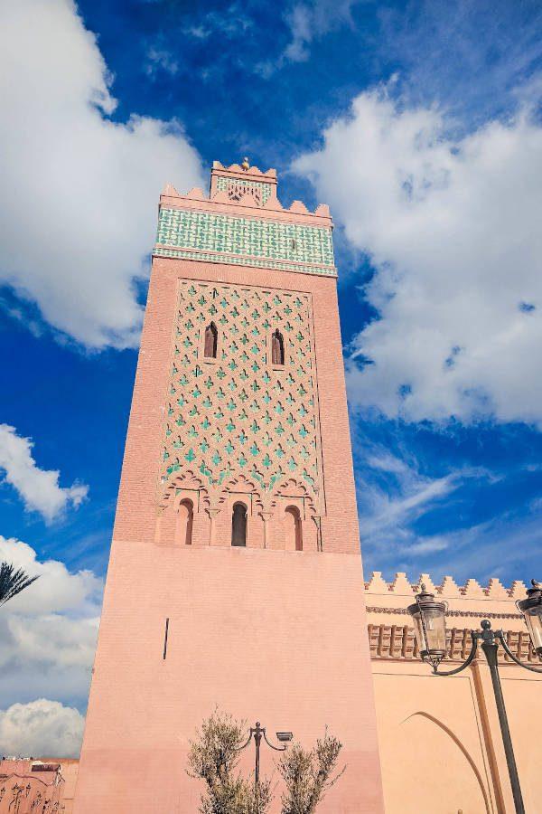 Das sind die Türme der Araber in Marrakesch, beeindruckende Bauwerke