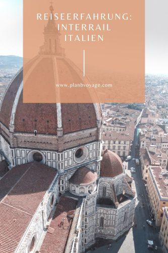 Titelbild Interrail Italien