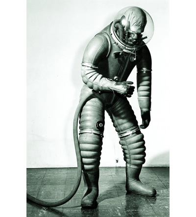 Mark 1 Tomato Worm Suit, by B. F. Goodrich.